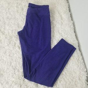 New Balance NBDry Workout Leggings Purple Sz M